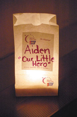 Luminarias Will Shine at Relay For Life of Rutherford County In Honor Of Cancer Survivors & Remembrance Of Those Lost