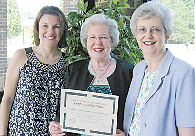 """Rutherford County Senior Center Named  """"Center of Excellence"""""""