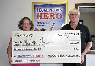 Northland Recognizes Winning Hometown Hero In Forest City