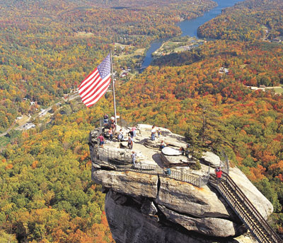 Chimney Rock Offers Spectacular Ways To View Peak Fall Colors