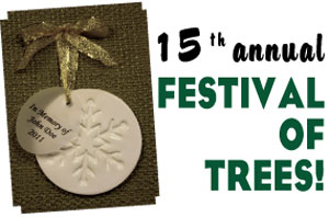 15th annual Festival of Trees!