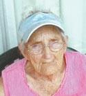 """Nellie """"Granny"""" Stafford, age 91"""