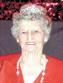 Bertha Sims Flynn, age 92