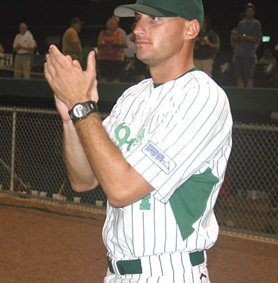 Hayes Named Coastal Plain League Coach of the Year!