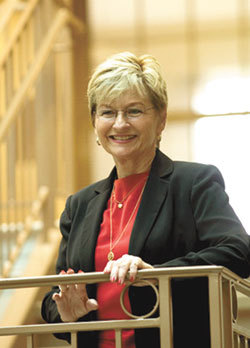 September Roundtable Welcomes  Dr. Pat Mitchell – Models of Economic  & Community Development