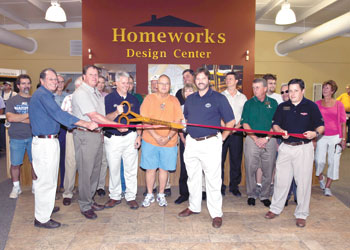Henson - HomeWorks Design Center has Chamber of  Commerce Ribbon Cutting and Customer Appreciation day attended by over one hundred people!