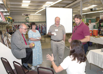 Yokefellow held a Chamber of Commerce Business After Hours-last Thursday September 9, at Yokefellow's offices and showroom on 102 Blanton Street, Sp