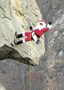 Santa on the Chimney