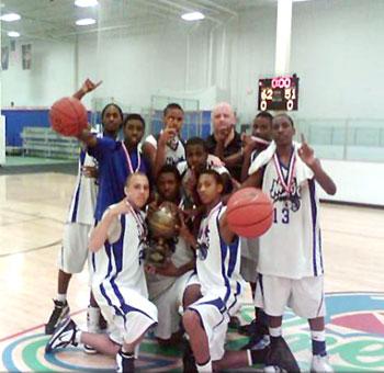 Carolina Magic 15U Basketball Wins USSSA State Championship