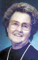 Hazel Chalmers Hutchins Boone, 95