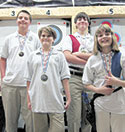 The Green Creek Archery  Club is Home to  Four State Champions!