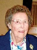 "Mrs. Dorothy ""Betty"" Rinehart, age 89"