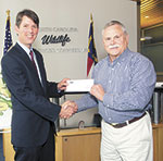 NRA Presents $25,000 Check to Wildlife Commission for Public Shooting Range