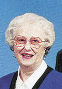Jeanette Gunter Huntley, age 88