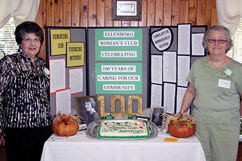 100 Years Of Caring, Sharing & Giving Ellenboro's Woman's Club Centennial