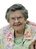 Louise VanDyke Smith, 95