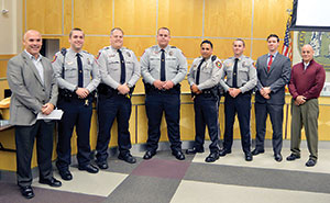 Forest City police department officers promoted