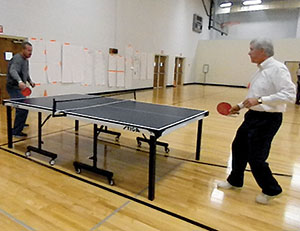 Ping Pong with the President