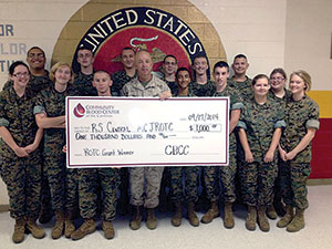 R-S Central High School JROTC Wins $1,000 CBCC Grant