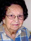 Mary Hughes McCurry, age 95