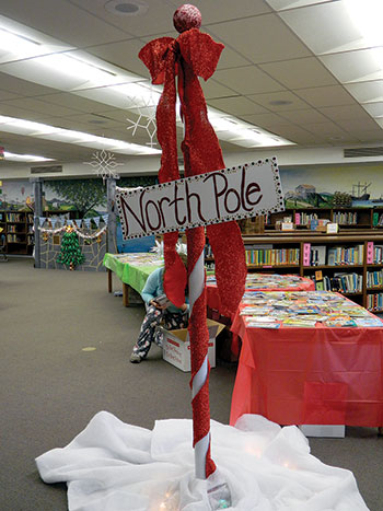 Enjoying All The North Pole Has To Offer At Harris Elementary