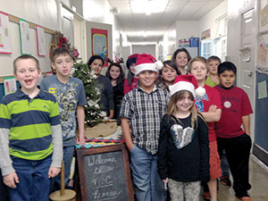Pioneer Christmas at Cliffside Elementary