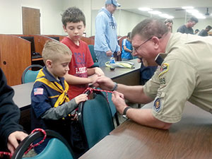 Cub Scout event at ICC