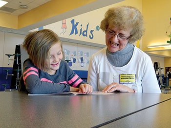 Reading Buddies make a difference for RCS elementary students
