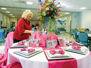 Senior Center hosts  Second Annual  Parade of Tables