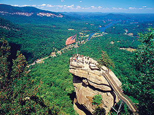 THE CONSERVATION FUND AND GOOGLE MAPS CREATE VIRTUAL TOURS OF  CHIMNEY ROCK STATE PARK
