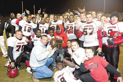 East Rutherford Cavaliers Win 2010 Rutherford County Football Championship