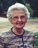 Eleanor Calhoun Matheny, 99