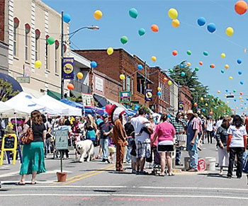 April showers lead to May festival and fun