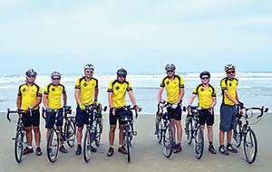 Boy Scouts Biking 3,900 Miles to Battle Cancer
