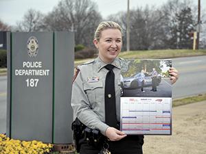 2019 North Carolina Governors Highway Safety Program  Calendar includes local photo