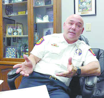 Jackson reflects on 30 Year Career in law Enforcement: Leaving Police Chief position here on February 28