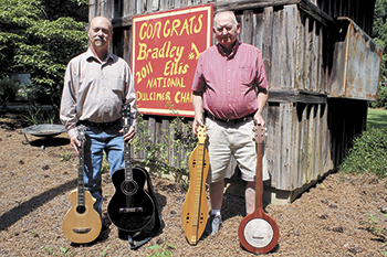 Music Makers Love of making musical instruments bonds two friends