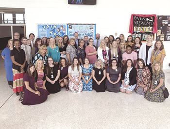 Rutherford County Schools Host New Teacher Breakfast