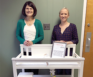 Diaper Changing Station Donated