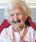 Louise Dewey, age 95