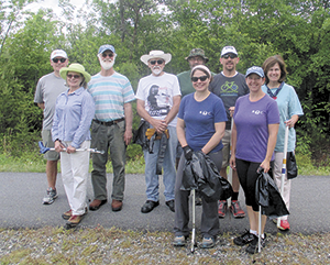 Rail Trail clean-up held