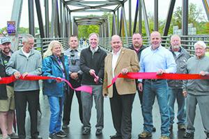Celebrating 13.5 mile Rail Trail grand opening