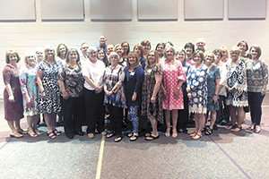 Forty-Five Retire from Rutherford County Schools