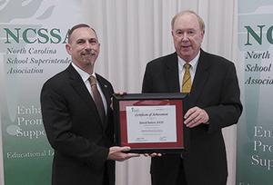 Dr. David Sutton completes Next Generation Superintendent Development Program