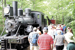 Cradle of Forestry Celebrates Train History Day