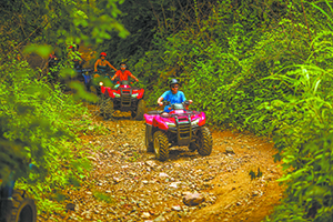 THE OPEN OUTDOORS: ATV AND TRAIL RIDING
