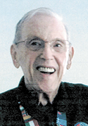 Mr. William (Bill) Arthur Hartley, age 85