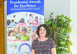 Chase teacher receives highest national honor
