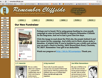 Community site seeks donations to preserve web presence