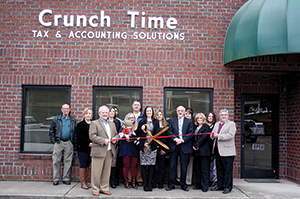 Crunch Time Accounting ribbon cutting